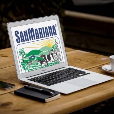 Repaginação Website Sanmariana