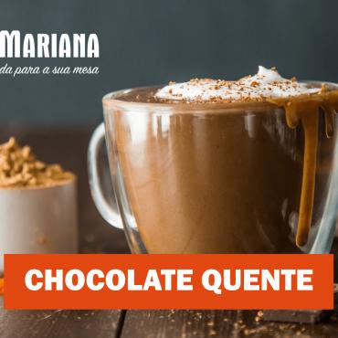 Chocolate quente com leite pasteurizado Sanmariana