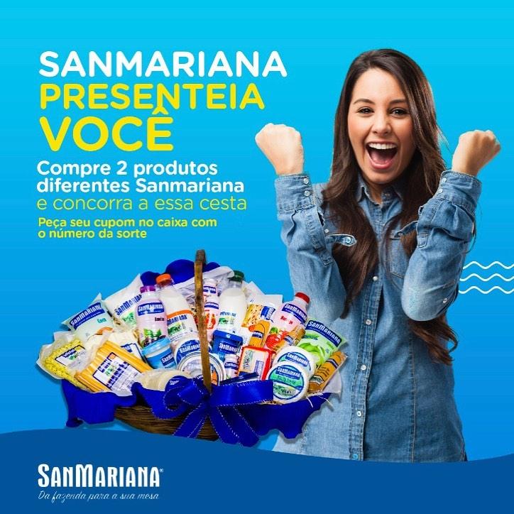 SanMariana presenteia você